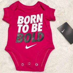 """🆕Baby """"Born To Be Bold"""" Onesie Size 0-3 Months"""